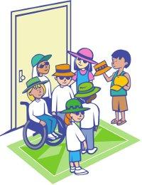 """Bild zur """"Inklusiven Schule"""" - gezeichnet"""