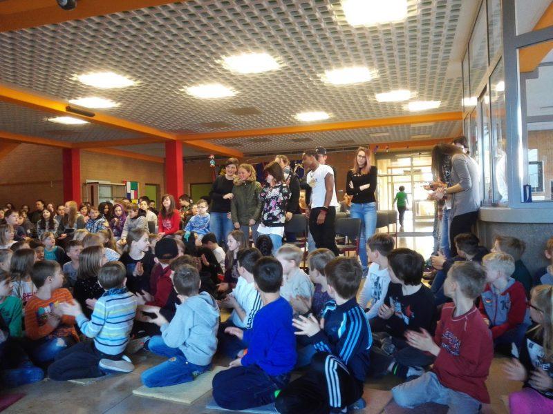 Schülerversammlung am 27.03.2017 in der Aula