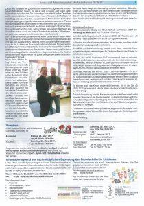Schuster - Amtseinführung - Mitteilungsblatt Lichtenau 2017-01 - 2