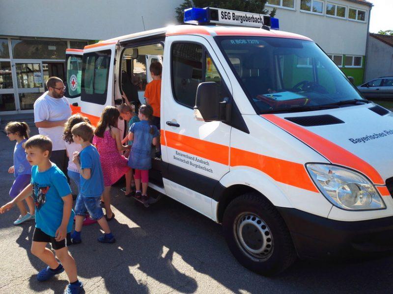 BRK-Fahrzeug besichtigen am 02.06.2017